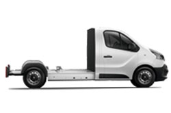 Trafic Cabina Plataforma 4p