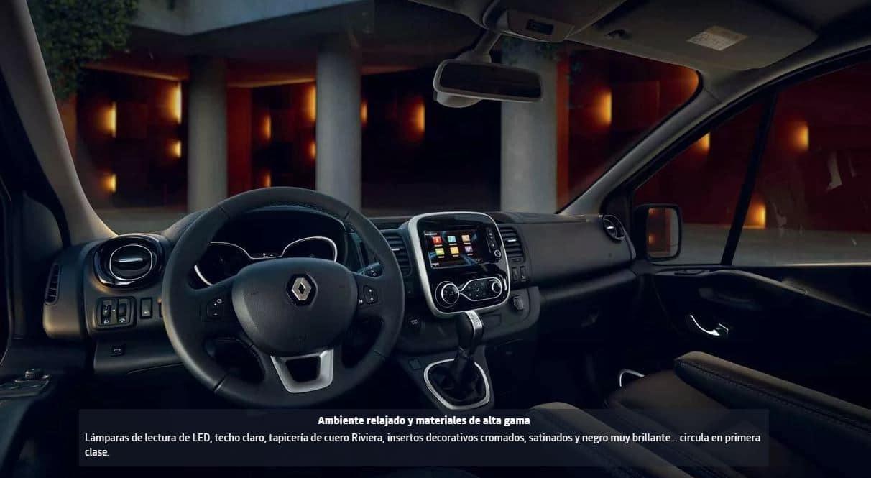 interior Renault TRAFIC SpaceClass