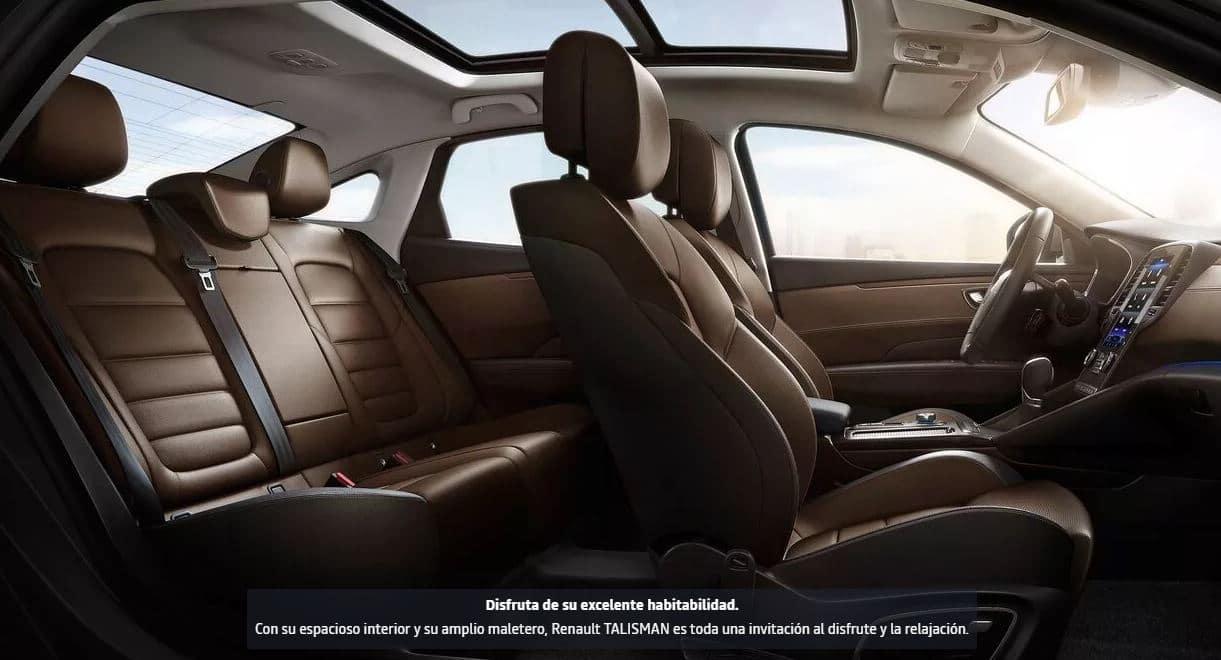 interior Renault Talisman coche