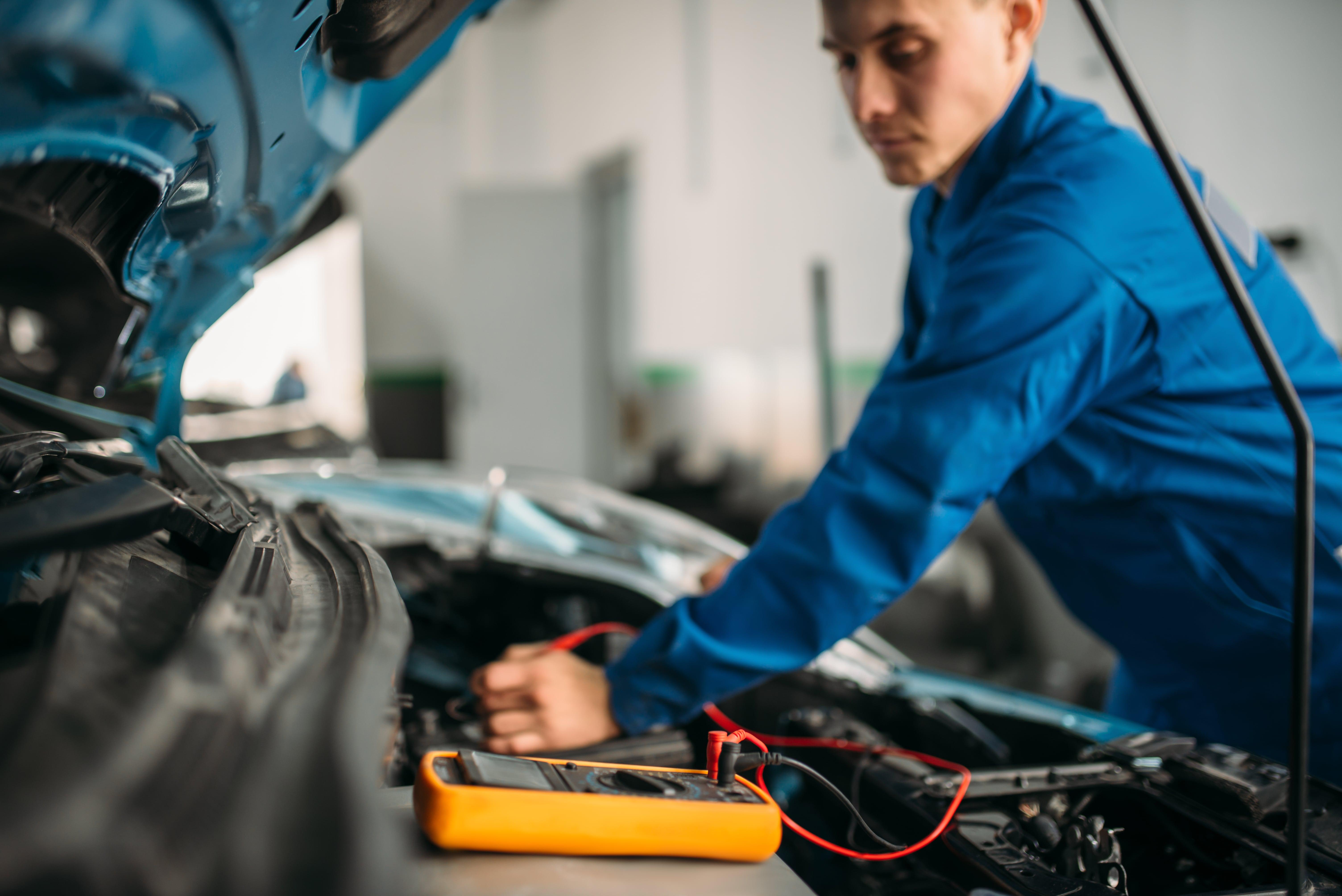 inspeccion de coche
