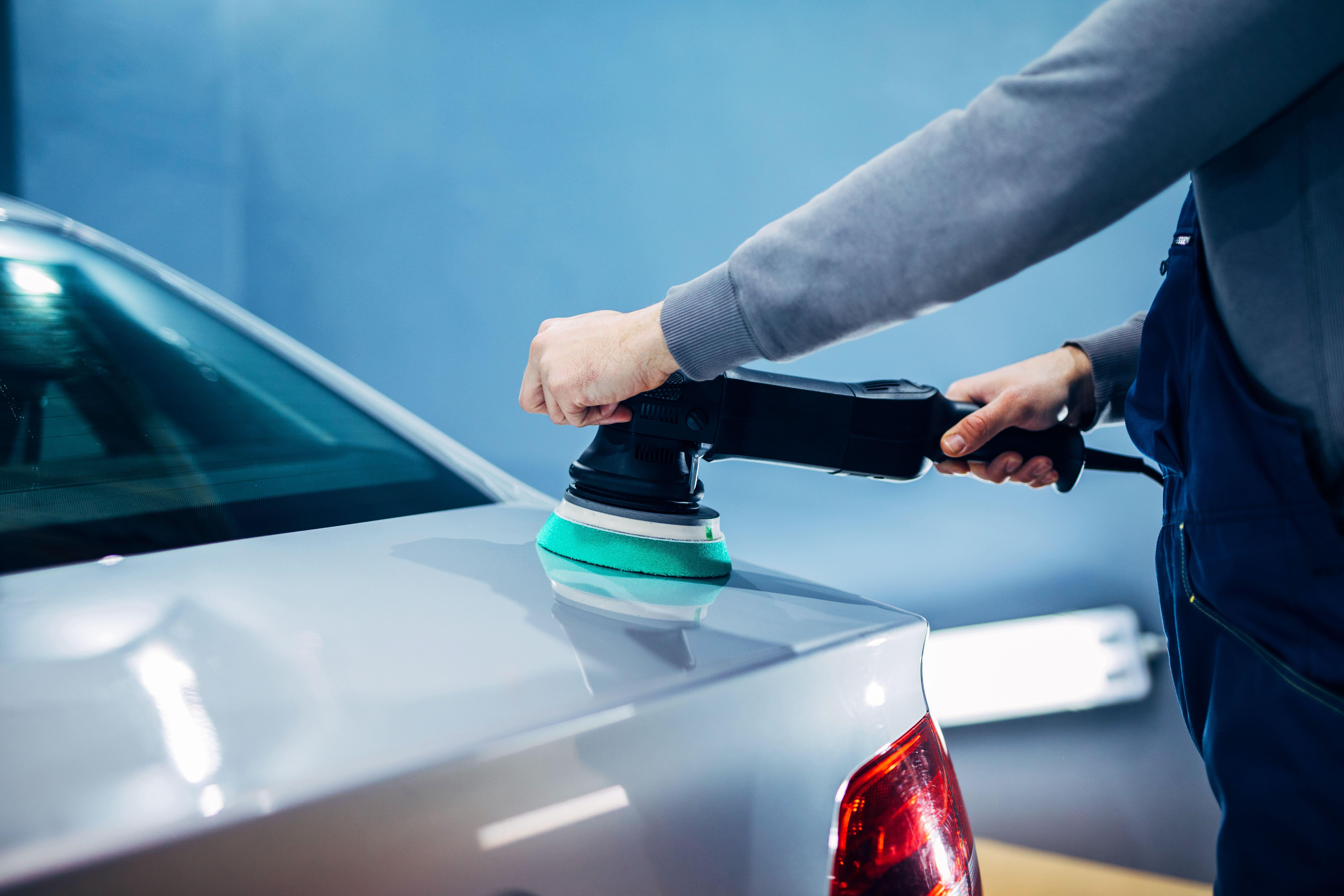 pulir coche reparar rasguño