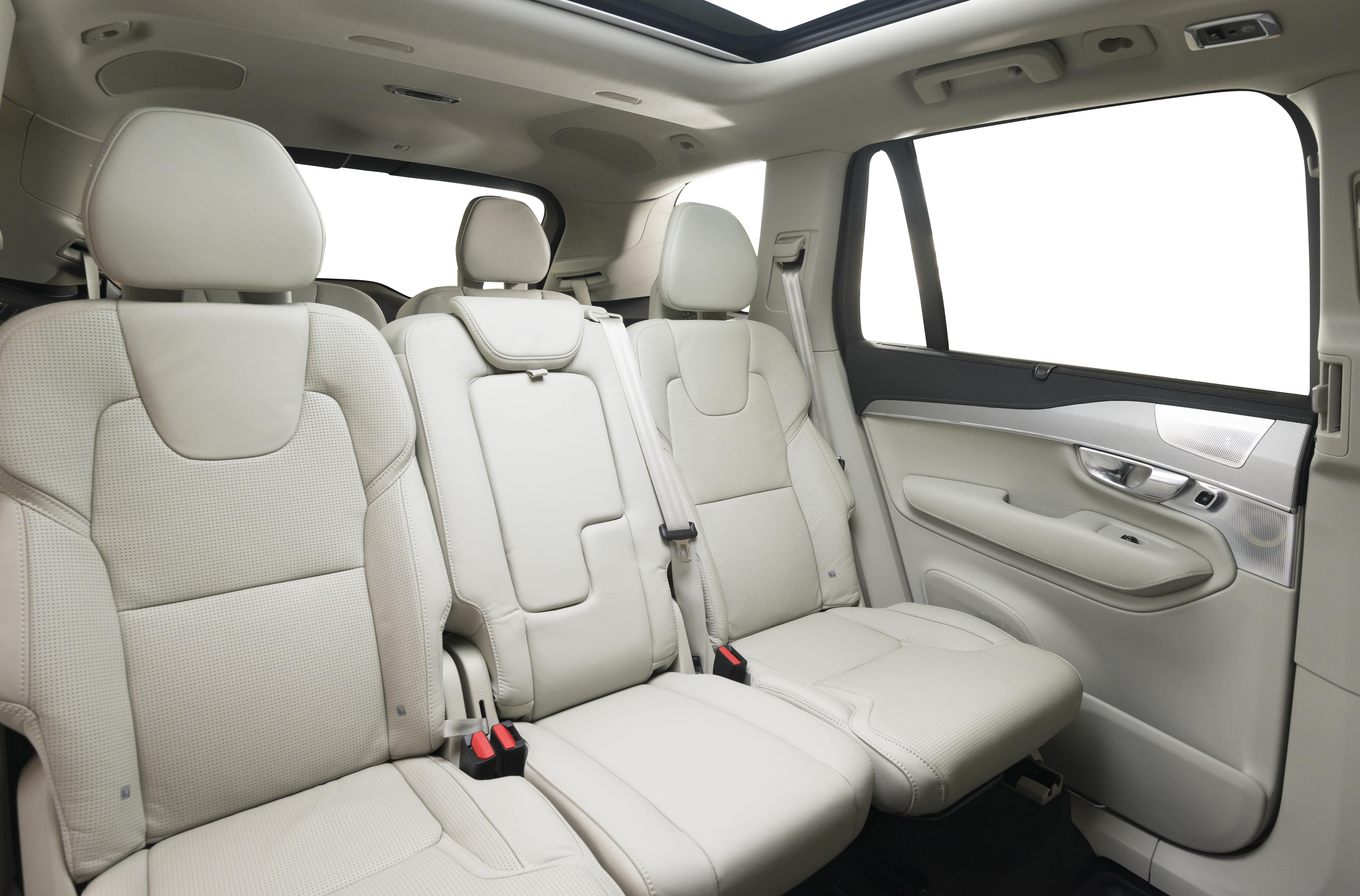interior coche plazas libres