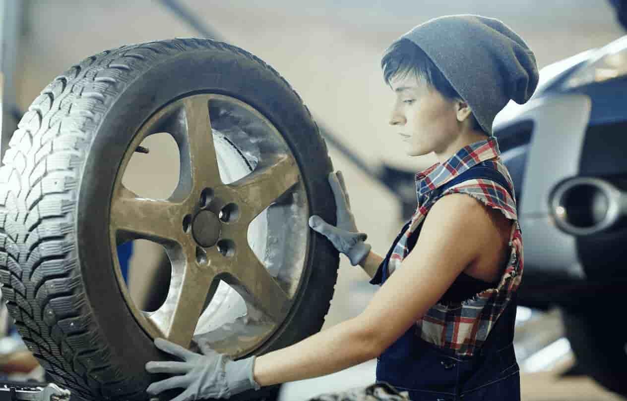 fabricar rueda coche